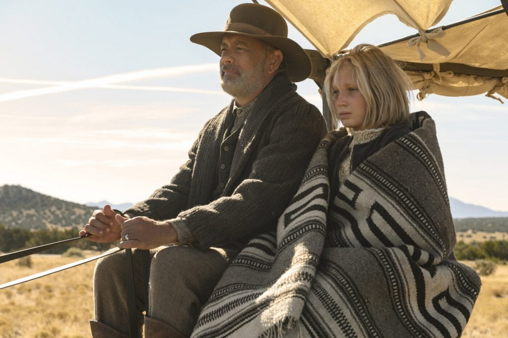 Trong News Of The World, Đại úy Jefferson Kyle Kidd và nhóc Cicada bất đắc dĩ phải đồng hành dọc theo bang Texas.