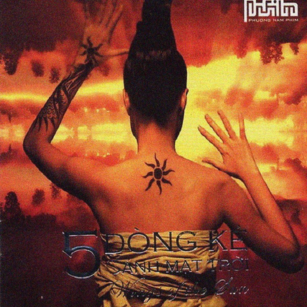 Bìa album Cánh Mặt Trời của 5 Dòng Kẻ.