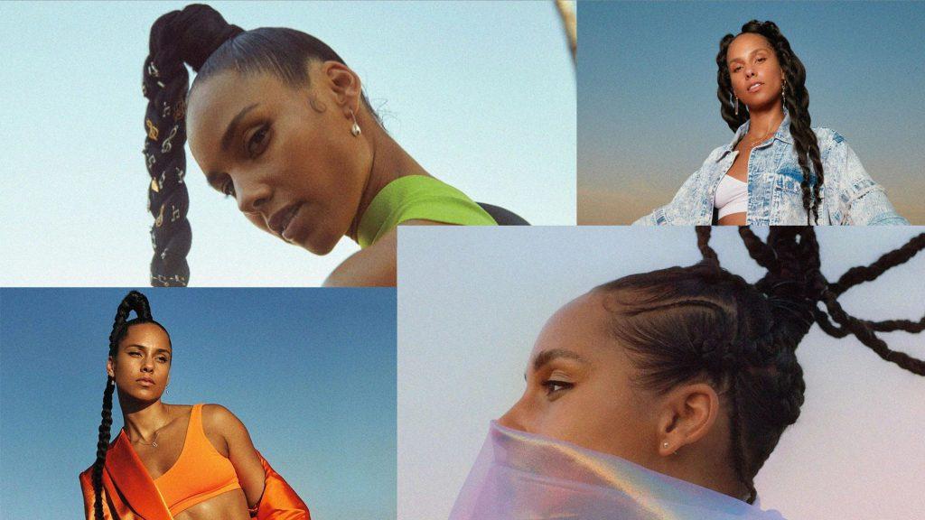 Hình ảnh Alicia Keys trong album tự đặt tên Alicia (2020)