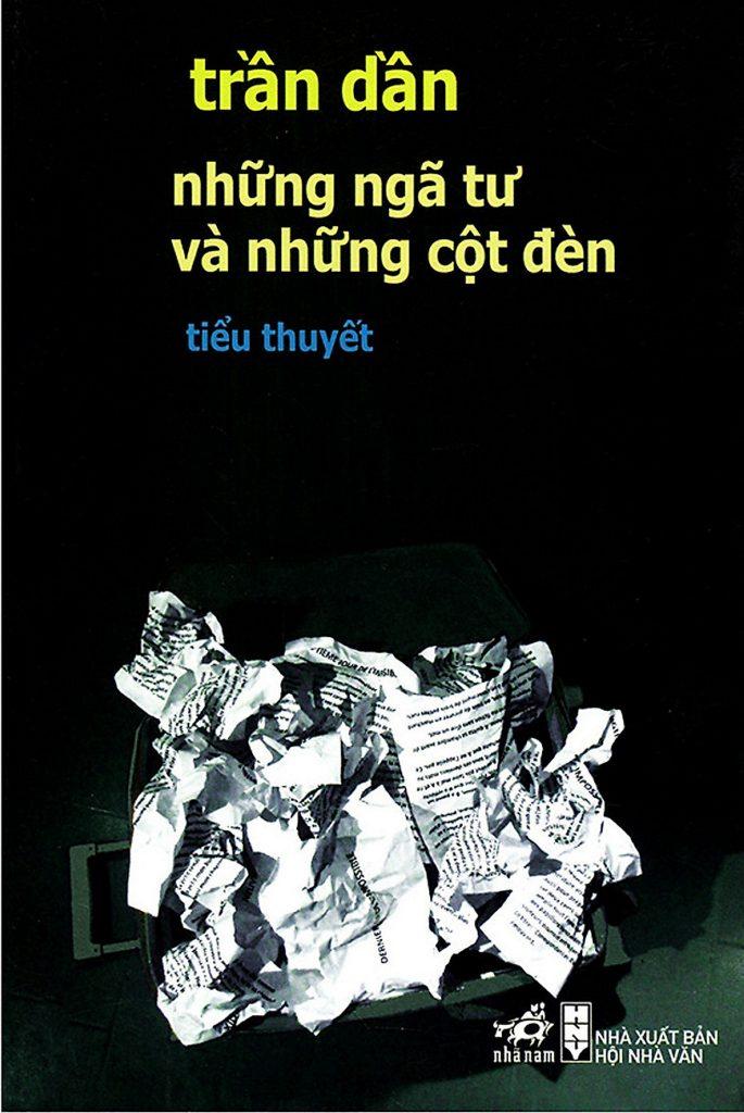 Bìa sách Những ngã tư và những cột đèn của Trần Dần.