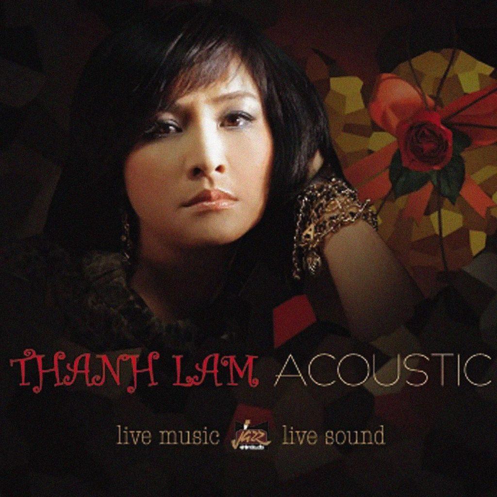 Bìa album Thanh Lam Acoustic do Lê Thanh Hải thực hiện.