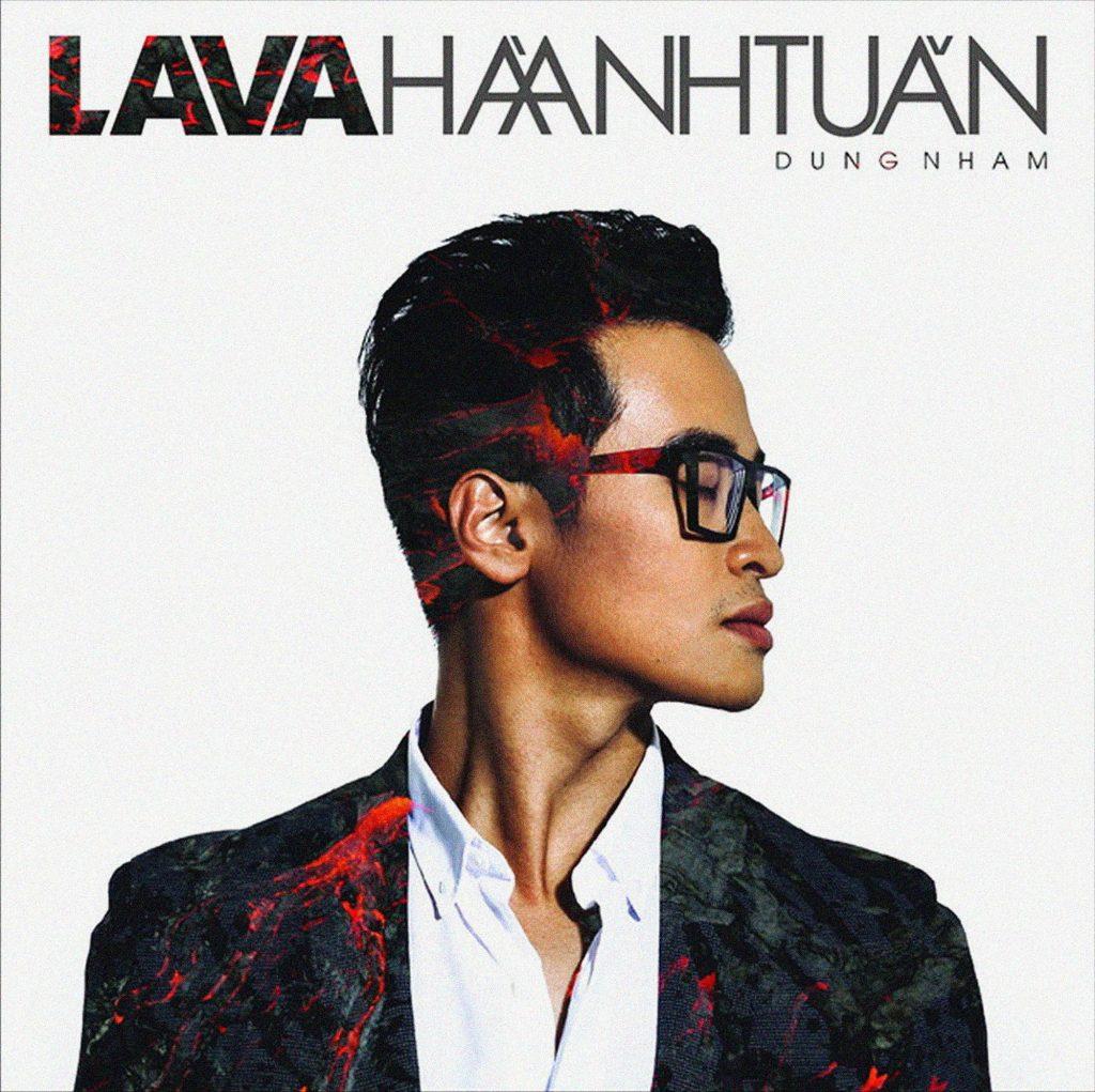 Bìa album Dung Nham của Hà Anh Tuấn.