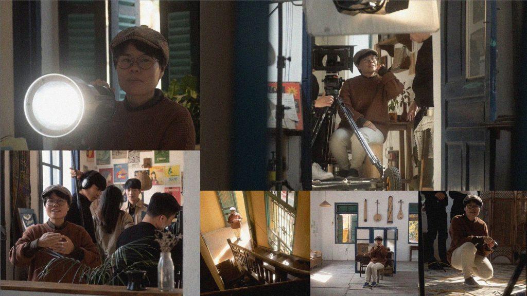 Hình ảnh trích từ MV Thương của Mademoiselle.